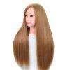 Coiffer cheveux™ Tête à coiffer brune blonde