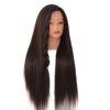 Tête à coiffer brun foncé – Coiffer cheveux ™